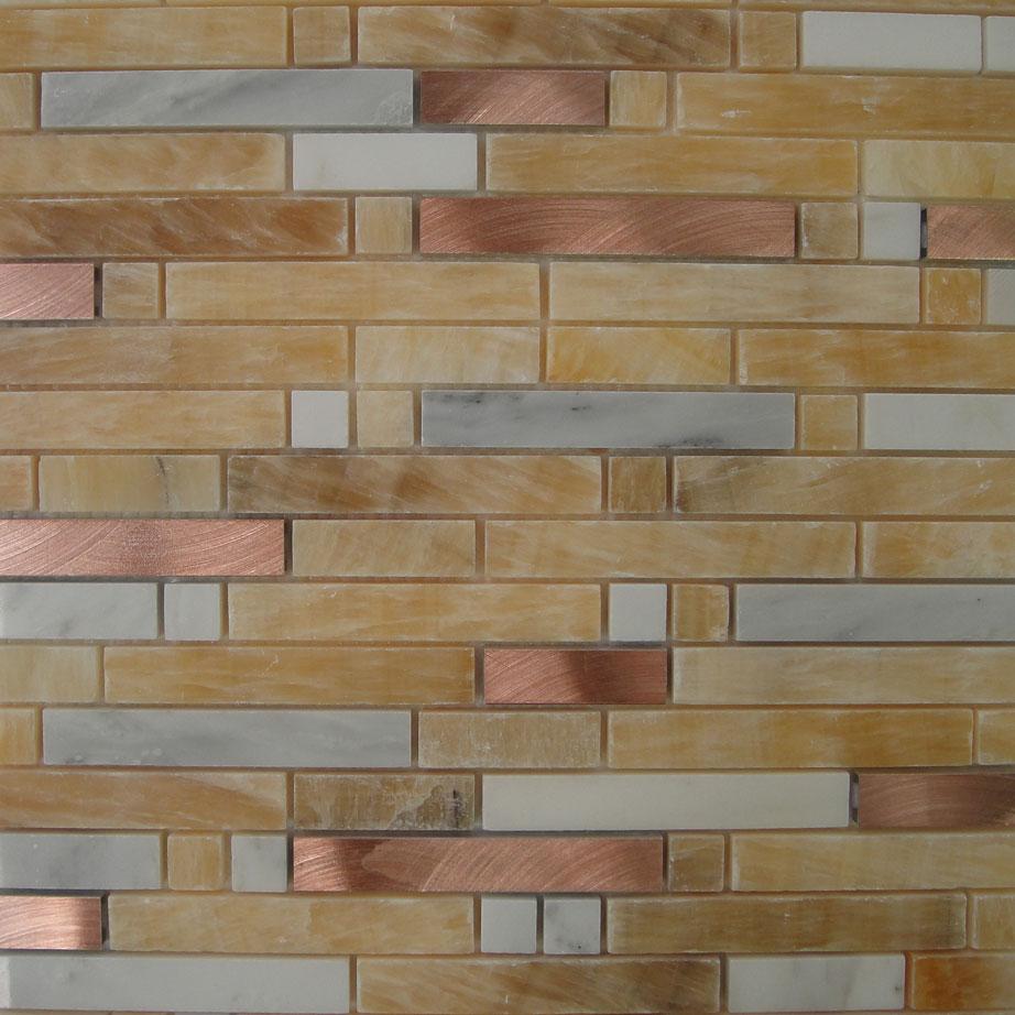 Belle Stone Metailic Puzzle 300x300mm Belle Tiles