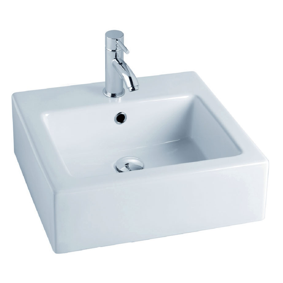 Gala City Wall Hung Or Counter Top Basin 480x480mm Belle