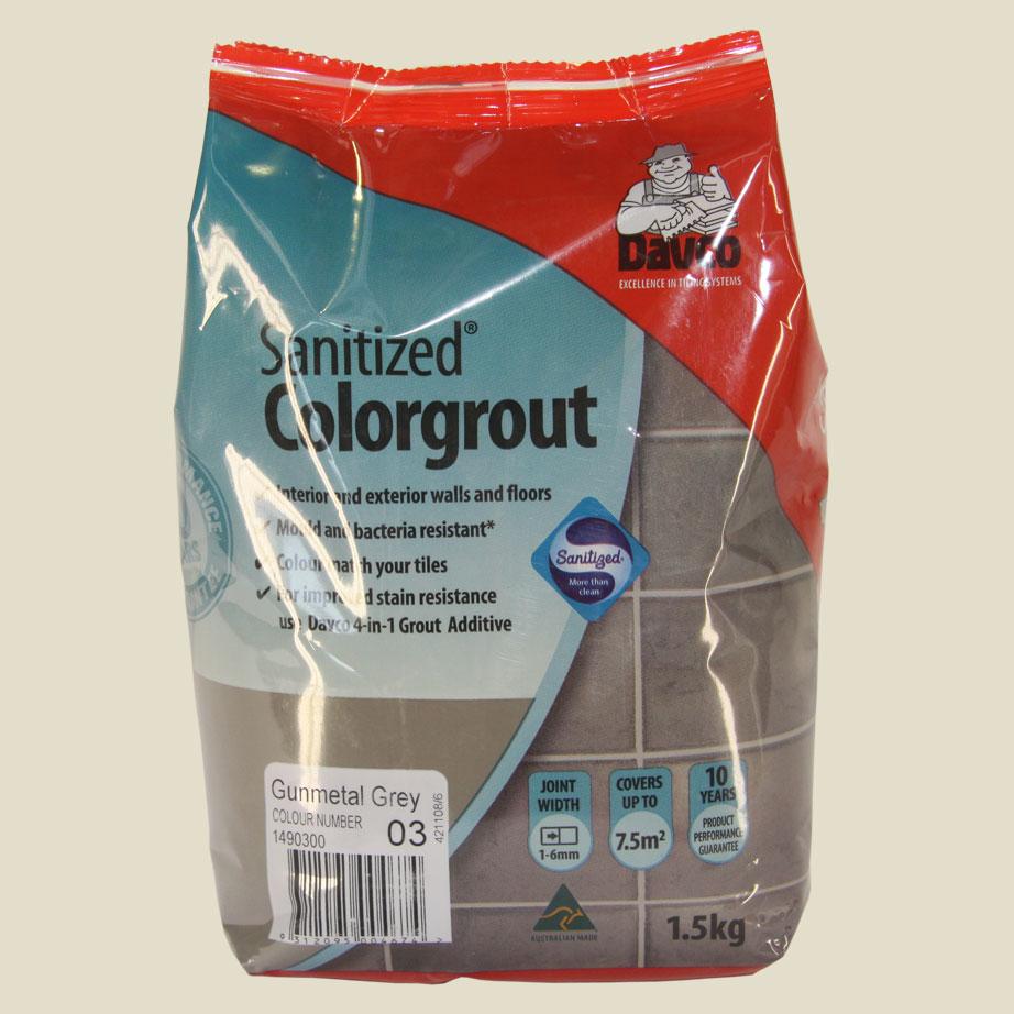 Davco Sanitized Colorgrout 1.5kg | Belle Tiles